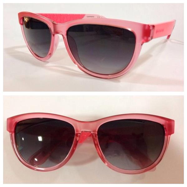 gafas de sol Carrera pasta transparente rosa