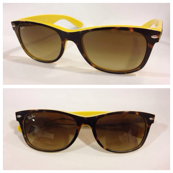 gafas sol Rayban amarillas