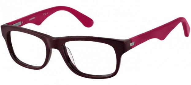 gafas pasta negra carrera rosa