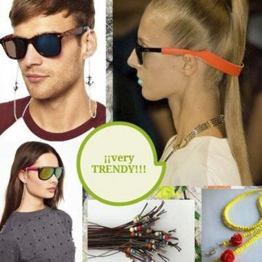 cordons d'ulleres com accessori de moda